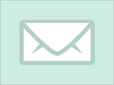 Email  Icon! email icon minimal flat awesome rad rebound