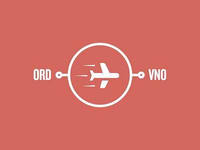 ORD -> VNO chicago vilnius travel airplanes europe nolongshadows