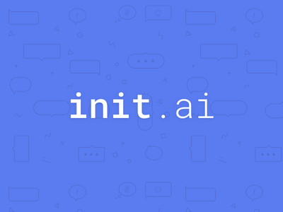 New Chapter | init.ai init artificial intelligence designer startup