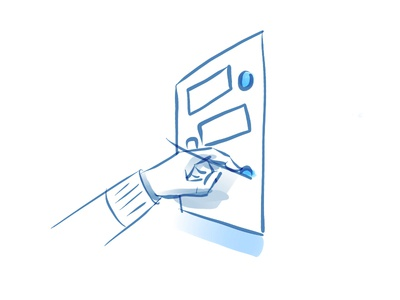 Designing Conversational Apps pencil ipad drawing