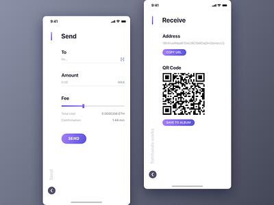 Tokenbill V1.0 part.3 tomhands token stock purple eth eos chart candlestick btc bitcoin app