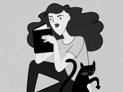 Girl, Reading