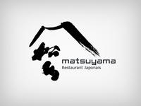 MATSUYAMA RESTAURANT JAPAN BRAND IDENTITY