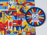 Tiptop 80 year packaging