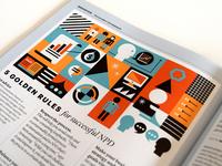 Idealog Magazine illustration