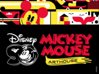 90 Years of Mickey Mouse (flyer layout Eddie Zammit)