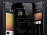 iPhone | Flat iOS Interface