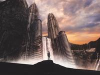 Photo Manipulation: 'Oblivion' in Kuala Lumpur, Malaysia