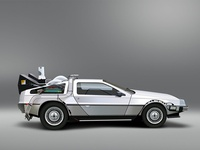 Vector Art - DeLorean DMC-12