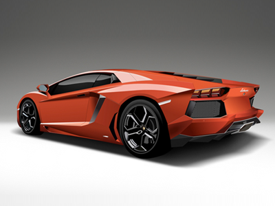 Vector Art Lamborghini Aventador By Rames Harikrishnasamy