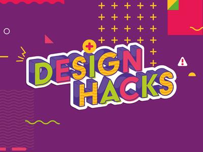 Design Hacks | Lettering