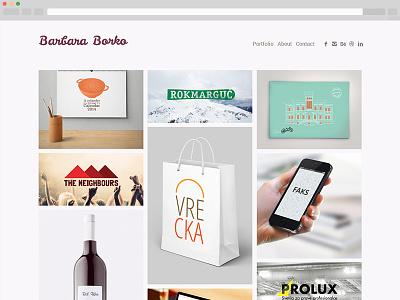 Portfolio portfolio illustration branding package web mobile design