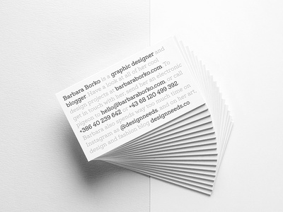 My new business card clever typeface minimal card design cards business card