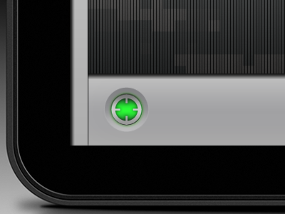 find me ios iphone ipad android app gps pinpoint glow ui button