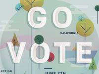 Go Vote Poster