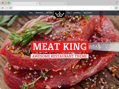 Meatking - FREE Restaurant Website Template with Bootstrap by ...