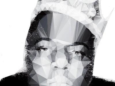 Biggie biggie illustration polygons prism