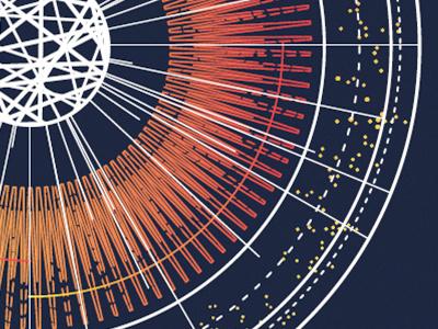 Sun Models chart illustration science space star sun odesza poster aiga