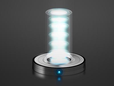 Quantum beam quantum beam photoshop laser light cilinder glass yeah :)