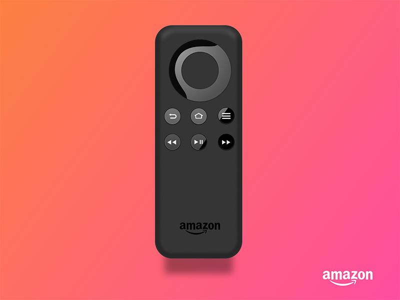 Amazon Fire Tv Remote sketch vector design product remote amazon