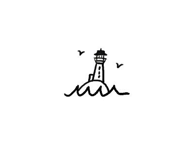 Peggys Cove, Nova Scotia lighthouse illustration icon canada halifax nova scotia peggys cove