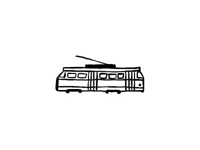 TTC Streetcar street car vehicle transportation transit commute toronto transit commission toronto transit toronto icon tram streetcar ttc