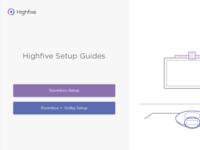 Hardware Setup Instruction Guides