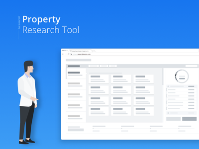 Property Research Tool for Home Buyers web app desktop guide interactive widget tool property real estate buyer