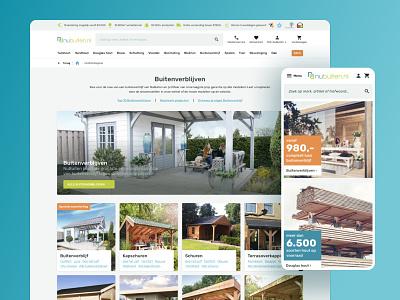 NuBuiten E-Commerce design system ecommerce design ecommerce design ui interface