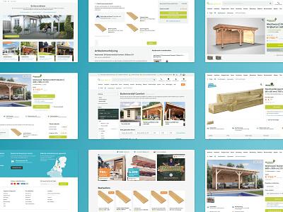NuBuiten Website ecommerce ux website design ui interface
