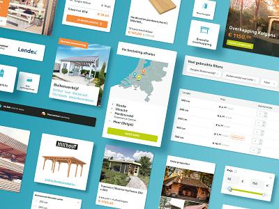NuBuiten - UI Elements ux interface design design system ui