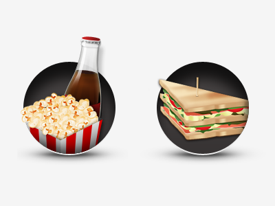 Catering Icons icon illustration food