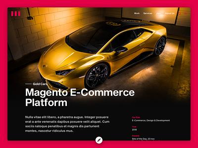 Concept Design Case case design e-commerce design ui interface