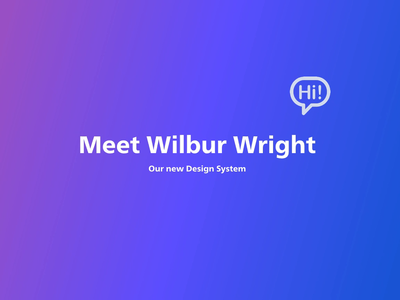 Wilbur design systems design system branding design ui interface