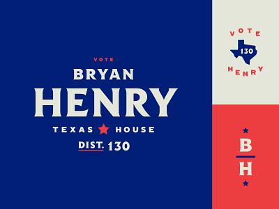 Political logo election politics vote texas typography branding political campaign logo