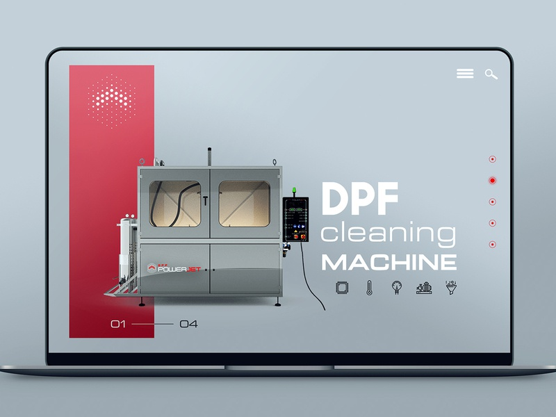 Studio Nine | DPF Cleaning Machine website web design branding