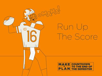 Make A Plan pt. IV computer mask masks drive car omaha athletics peyton football tn illo illustration design university of tennessee knoxville tennessee