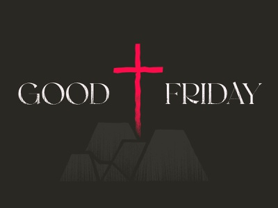 Good Friday cross death church design jesus good friday