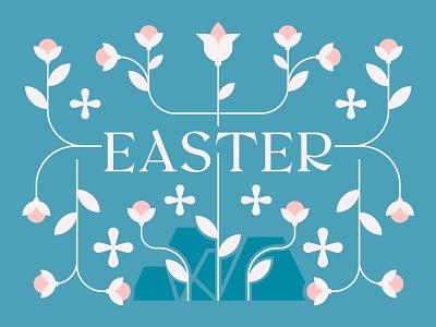 Easter church jesus christ pastel flowers resurrection sunday jesus easter