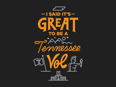 I Said It's Great... pt. I tn knoxville torchbearer university of tennessee ut volunteer vol tennessee