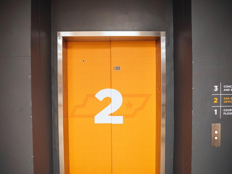 Arena Dining pt. I 3d lettering 3d elevator illistration typography illustration tn knoxville tennessee