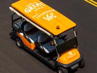 University of Tennessee Golf Cart