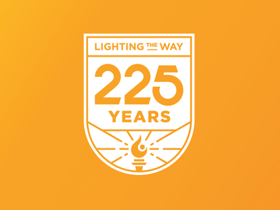 225th Anniversary Final pt. II light anniversary flame brand design brand identity campaign brand university of tennessee tn knoxville tennessee