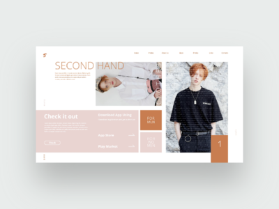 Second hand. Website)