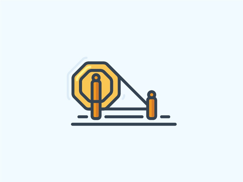 Charkha | Spinning Wheel by Rupinder on Dribbble