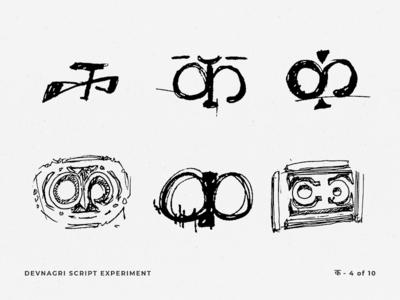 Devnagri Script Experiment