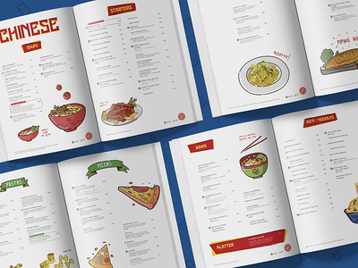 Fork and Dagger | Menu Design