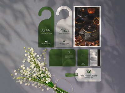 The White Orchid | Branding