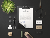 Stationery Concept | B.S. House