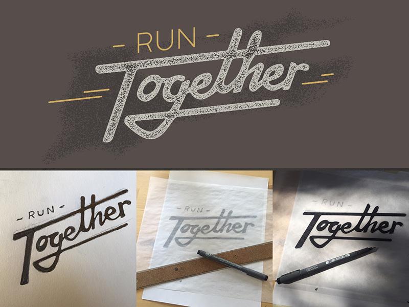Run Together Dribbble By John Callison Dribbble Dribbble